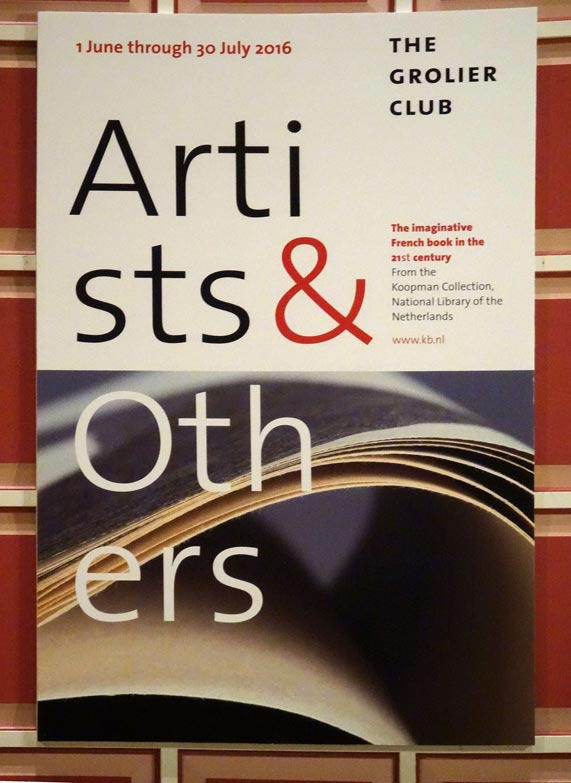 Artists & others, Grolier Club, New York